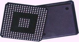 BGA-Chip von unten